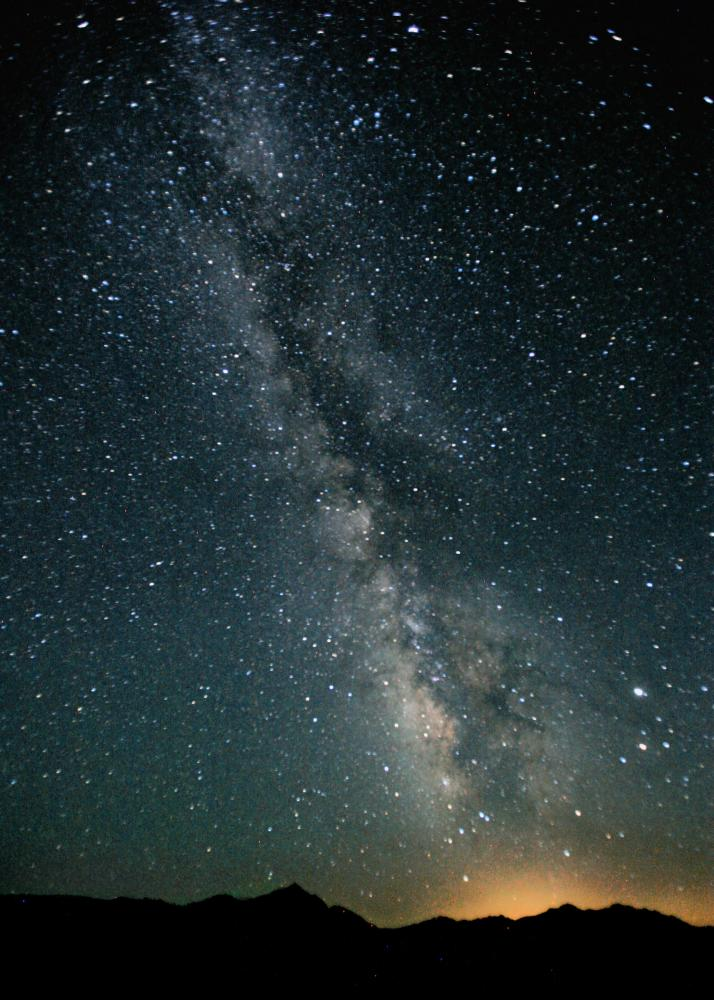 The Milky Way, our home galaxy- Wikipedia Commons