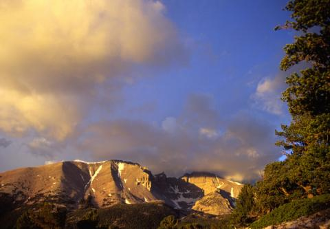 Wheeler Peak sunrise